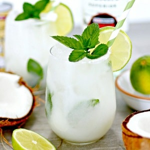 Receta mojito de coco